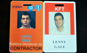 Lenny Gale before and after realizing that life is noyoke