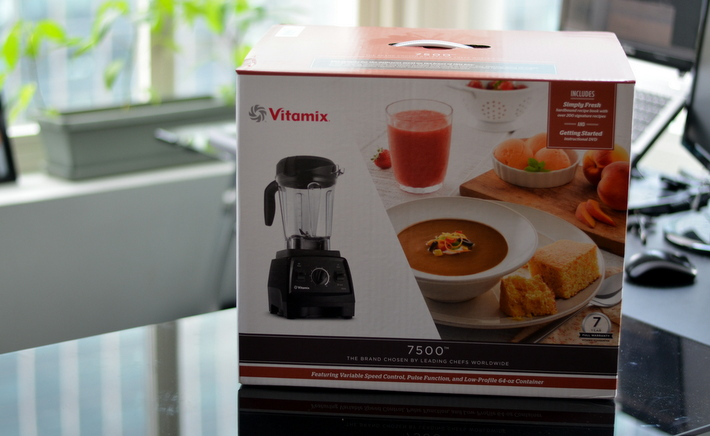 vitamix 7500 product box