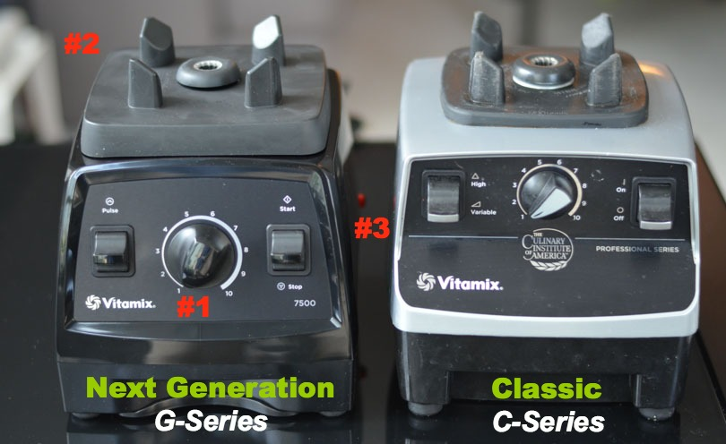 Next Generation G-Series and Classic C-Series Vitamix