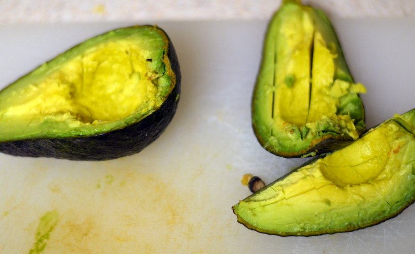 Just some soft avocados for the quinoa buritto bowl.