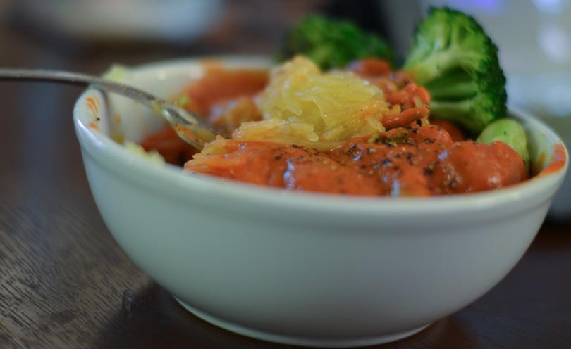 spaghetti squash served v2