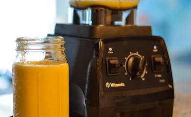 Vitamix Owner Admiring their Vitamix