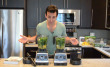 Lenny Gale comparing Certified Reconditioned Vitamix Blender and a New One