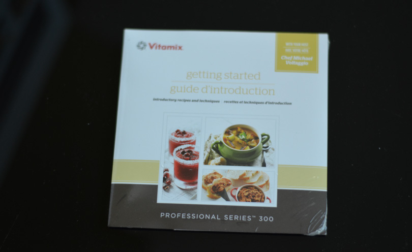 Picture of Vitamix Pro 300 Getting Started Guide