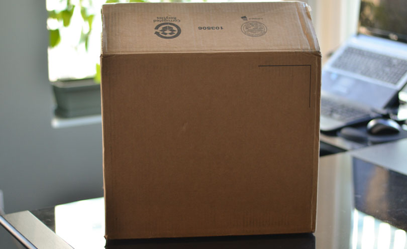 Picture of Vitamix Pro 300-cardboard box