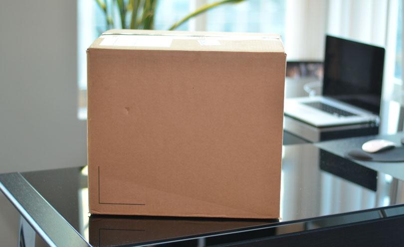 Vitamix Pro 750 blank cardboard box