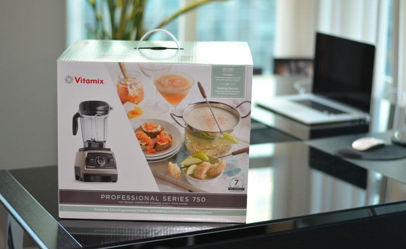 Vitamix Pro 750 box front