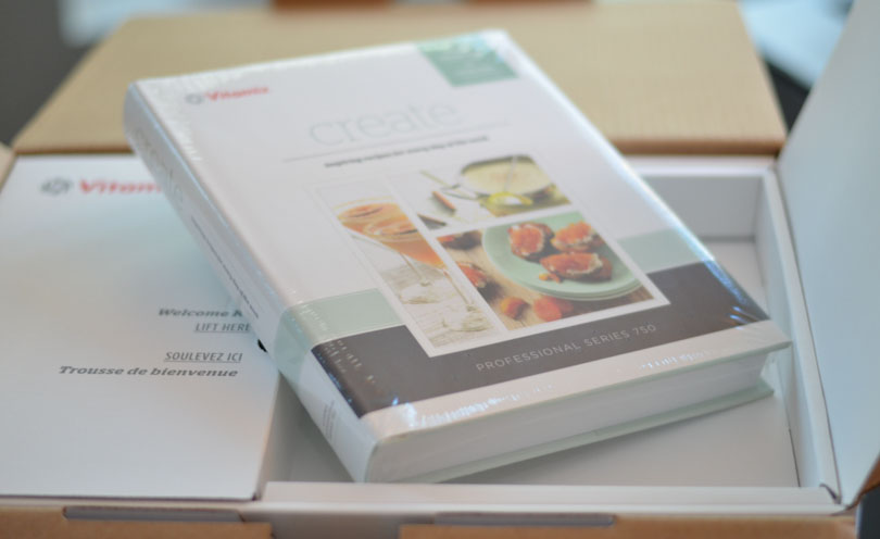 Vitamix Pro 750 cookbook Create