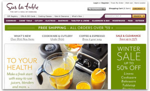 Sur la table screenshot selling vitamix pro 750