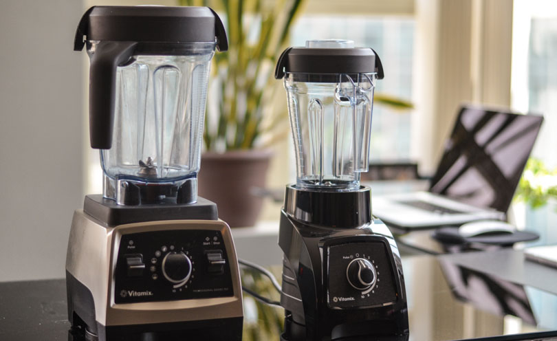 Vitamix S30 next to Vitamix Pro 750