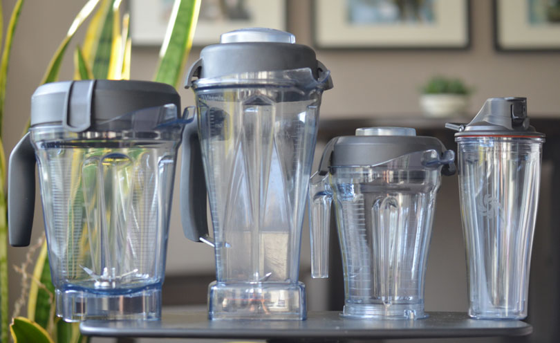 64, 64 low-profile, and s-series 40 and 20 Vitamix containers