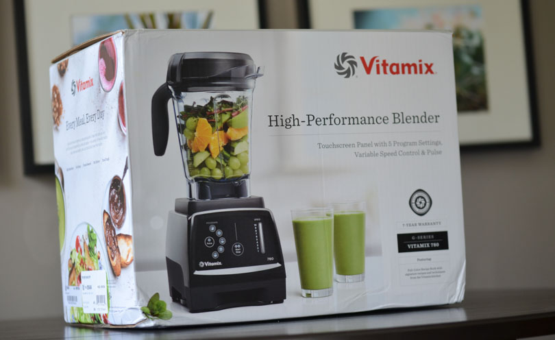 Front of the Vitamix 780 box.