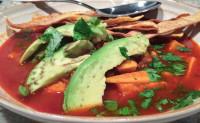 """Mexican """"Chorizo"""" Sweet Potato Soup"""