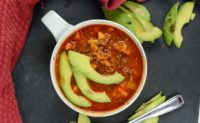 4-ingredient Mexican Sweet Potato Chorizo Soup