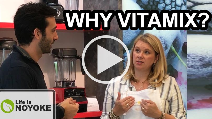 Why Vitamix conversation between Lenny Gale and Michelle.