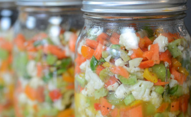 giardiniera in a jar