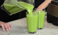 Blender Babes' I am Spicy Hot (green juice)
