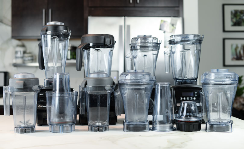 Vitamix containers for Classic and Smart System.