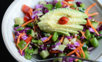Crunchy Asian slaw salad