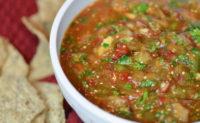 Zvi's smoky salsa