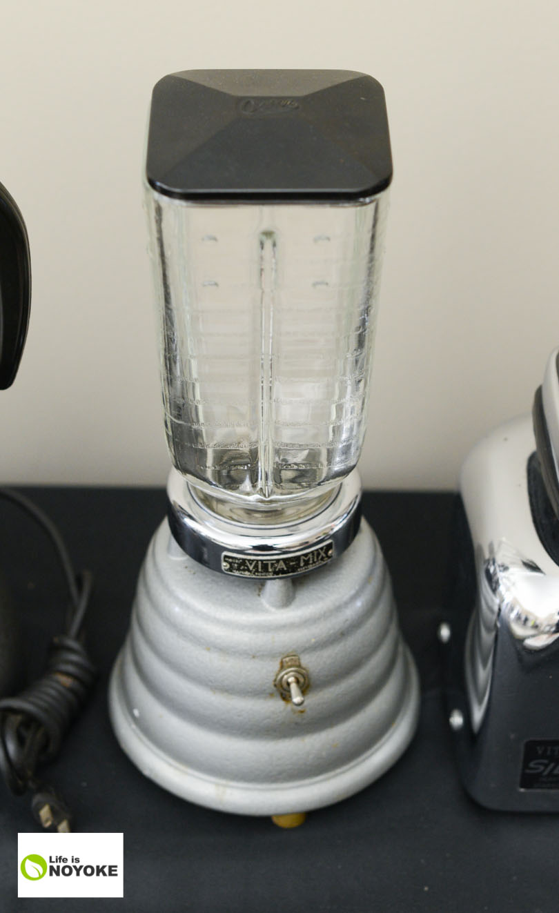 Beehive-looking Vitamix.