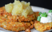 Vegan Sweet Potato Latkes