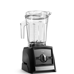 Vitamix Ascent 2500 in front of white background.