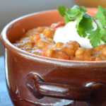 Lentil chili by Life is NOYOKE.
