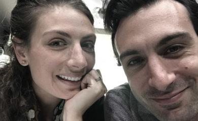 Shalva and Lenny selfie.