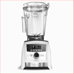 An all white Vitamix A3500 perfect for 2017 Mother's Day.
