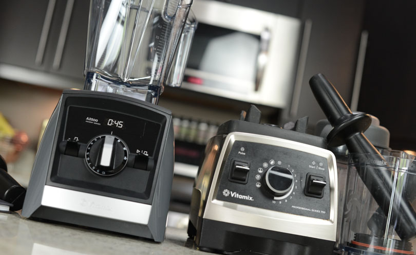 Ascent A2500 and Pro 750 for Vitamix usage report May 2017.