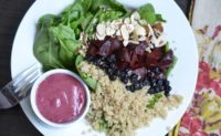 Bright Blueberry Balsamic Vinaigrette