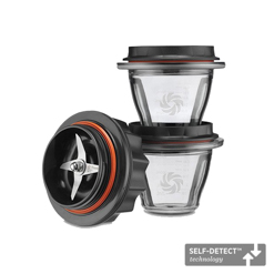 Vitamix Ascent 8-ounce container starter kit with Smart-Detect Technology.