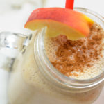 Peach pie smoothie from Life is NOYOKE.