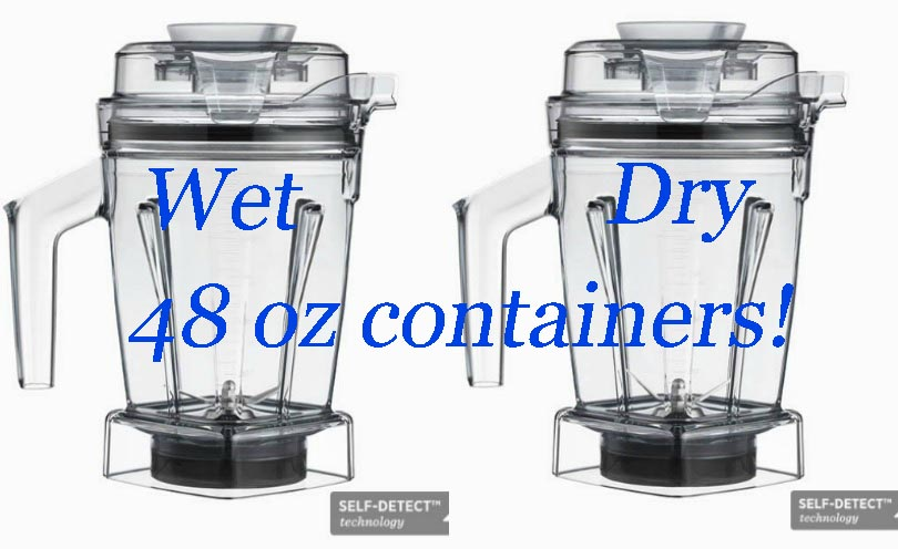 48 ounce wet and dry containers self detect