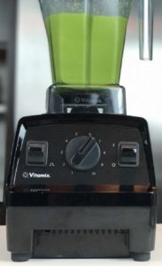 Vitamix Explorian E310 controls up close.