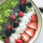 carolynes green smoothie bowl