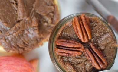 Maple pecan nut butter by Life is NOYOKE.