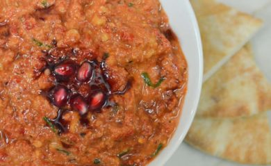 Homemade muhammara featured by Life is NOYOKE.