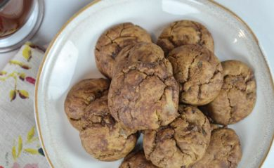 Triple ginger chocolate cookies by Life is NOYOKE.