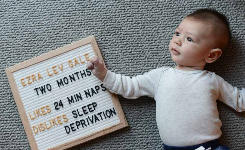 Two month old baby.
