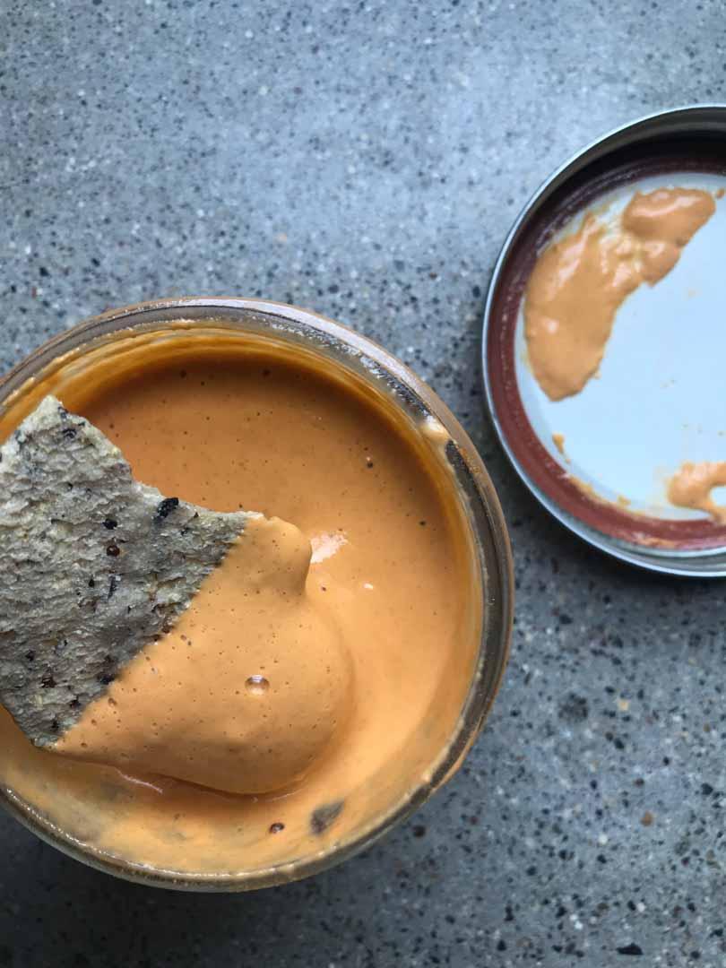 queso jar