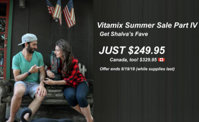 Vitamix Summer Sale 2018