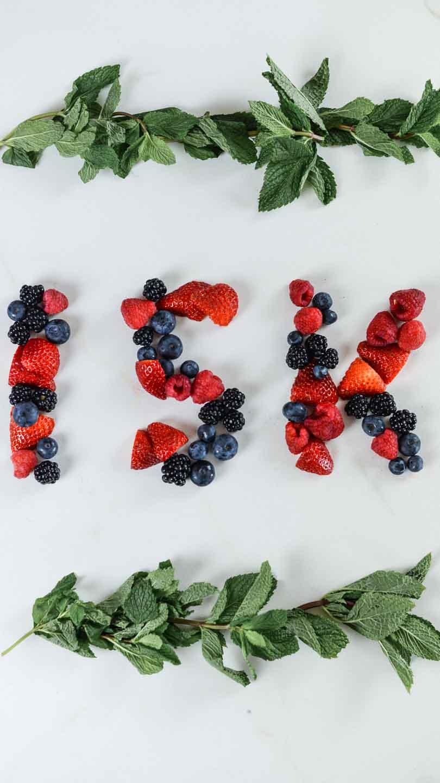 15k instagram with berries
