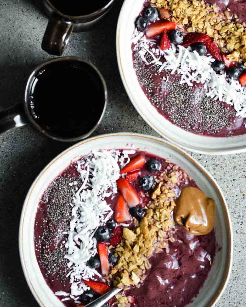 acai bowl coffee