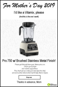vitamix mothers day sale 2019 life is noyoke brushed stainless pro 750