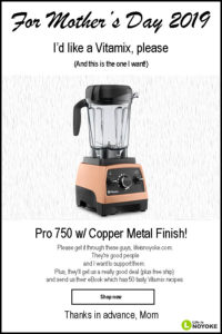 vitamix mothers day sale 2019 life is noyoke copper pro 750