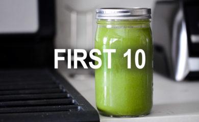first 10 recipe pack