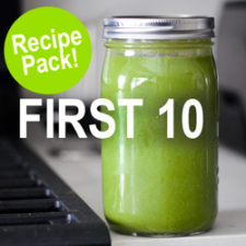 first 10 recipe pack vitamix life is noyoke